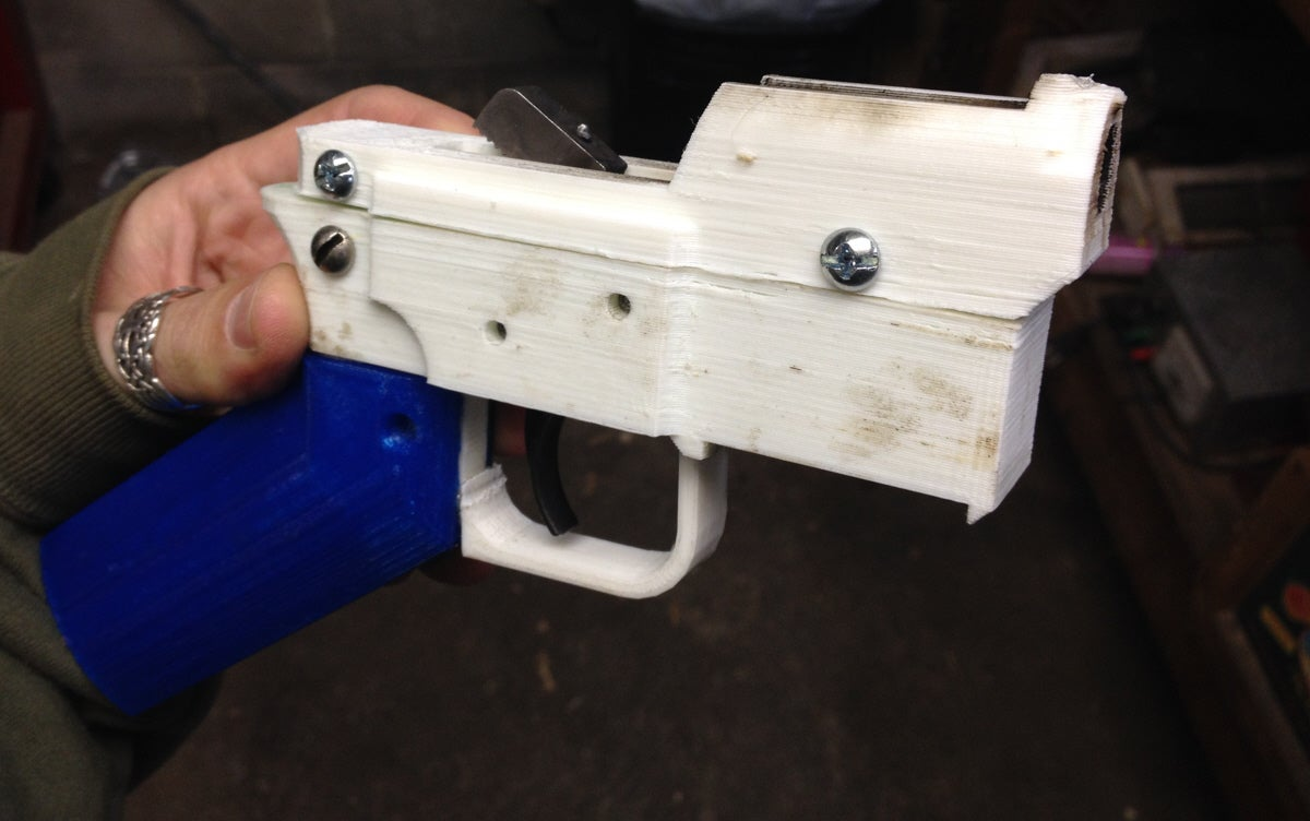 Man Makes Special Ammunition For 3-D Printed Guns