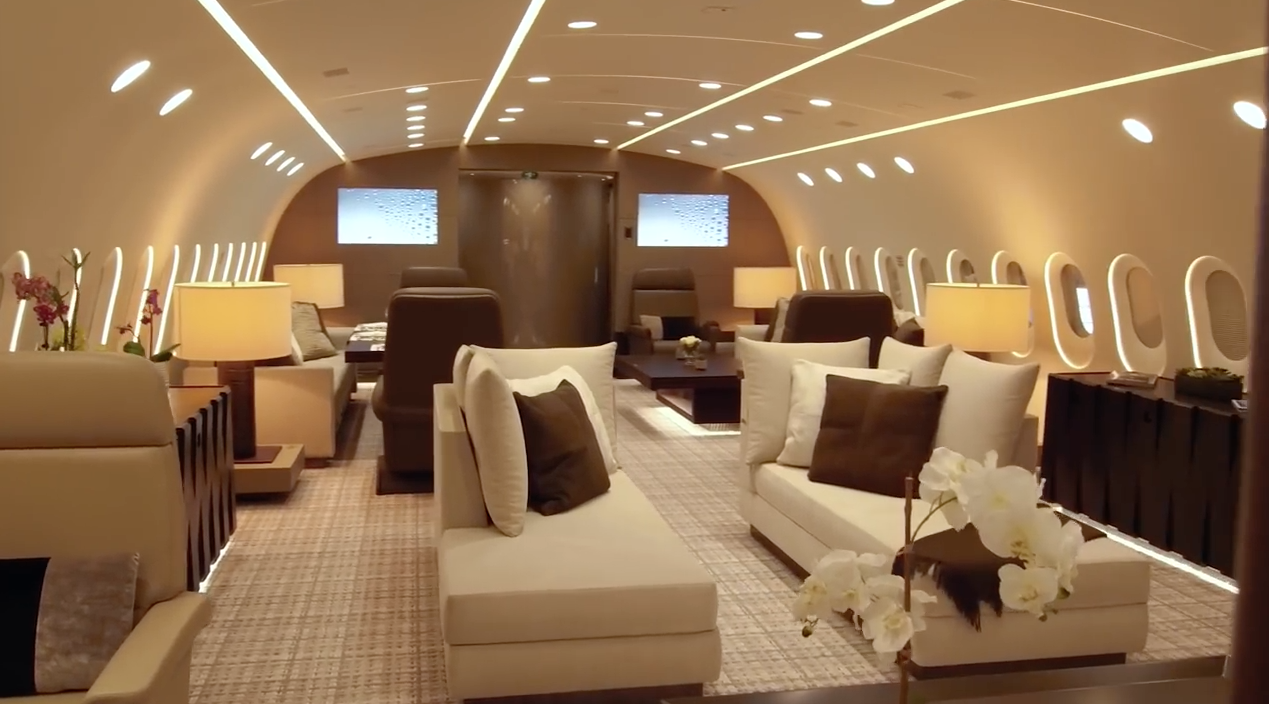 Luxury Dreamliner Interior