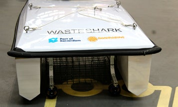 Meet 'Waste Shark', The Drone That's Picking Up Garbage From The Oceans
