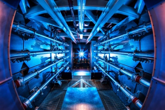 National Ignition Facility Cranks Laser Up to Record 500 Trillion Watts