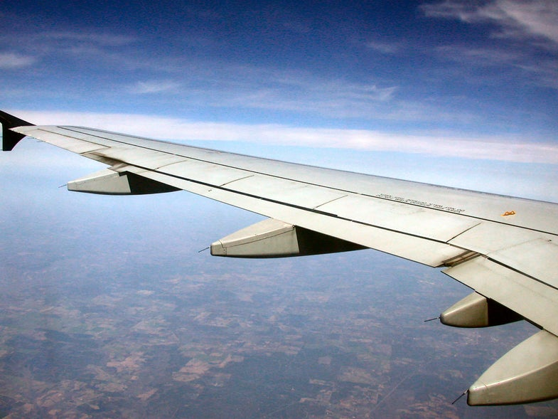 Self-Healing Material Could Instantly Fix Airplane Wings Mid-Flight