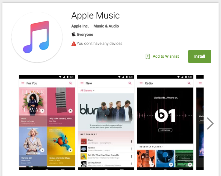 Apple Music App For Android Has Been Released