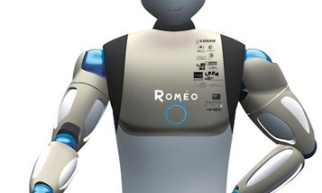 Little French Robot Nao Has A Big Helpful Humanoid Brother