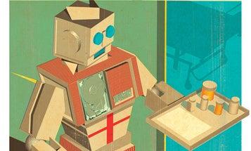 Robo-Nurses Replace People, Deliver Pills