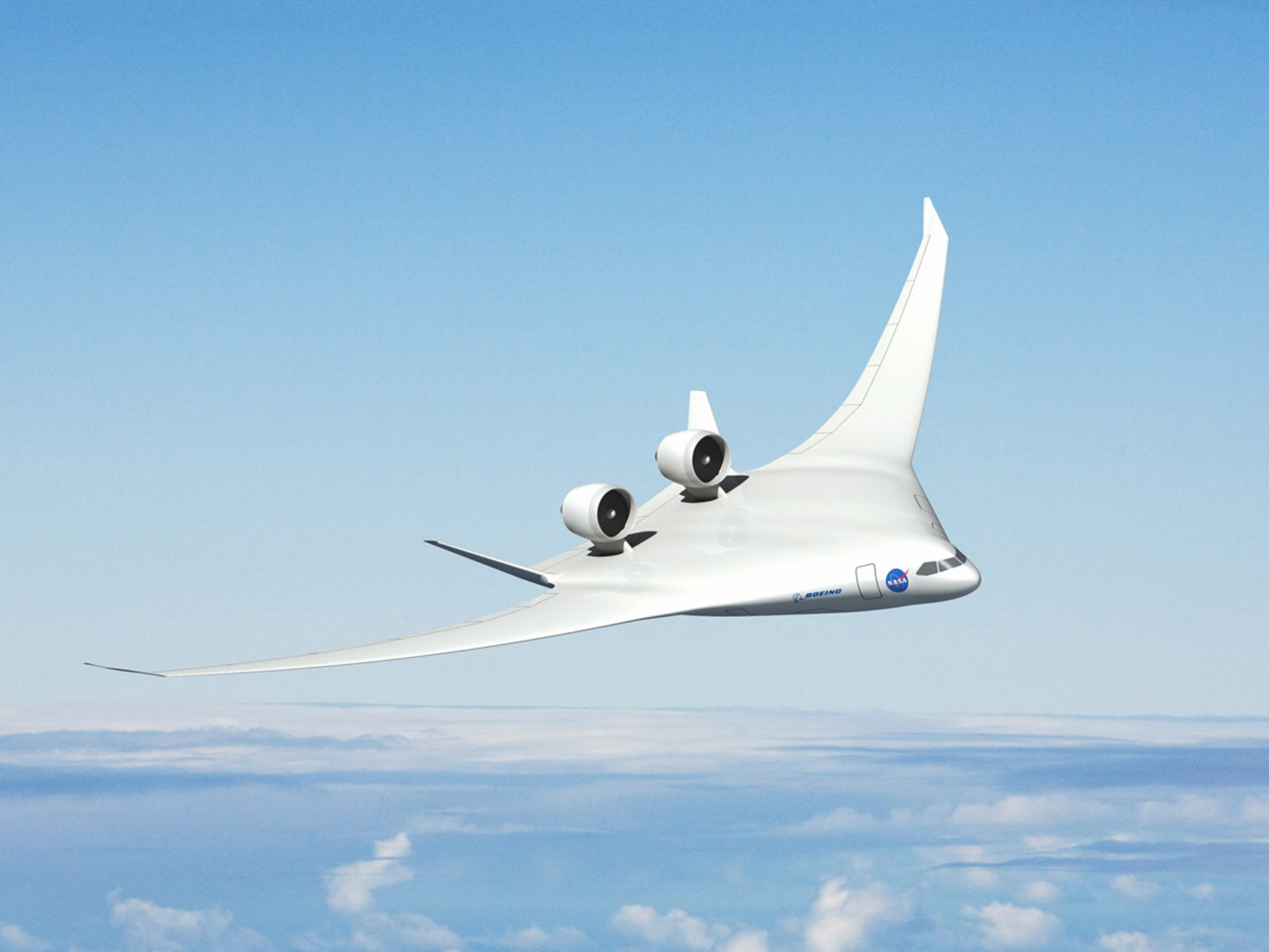Hybrid Wing Body Aircraft Concept