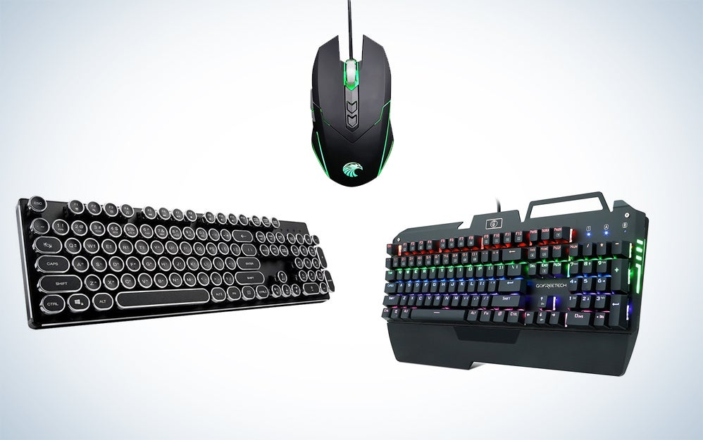 KrBn keyboards and mouse