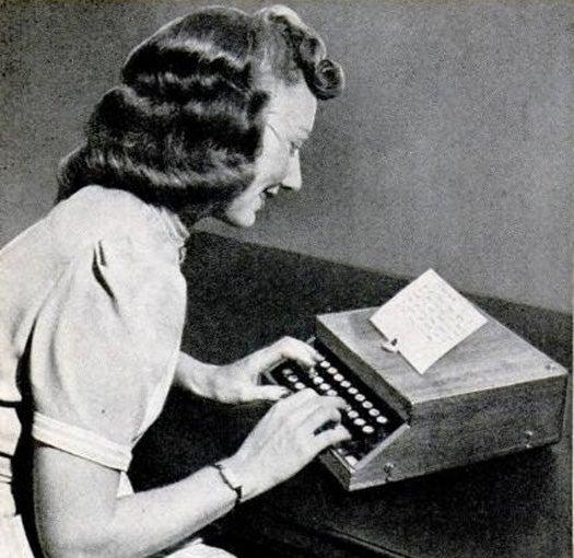 Typing Music, December 1939