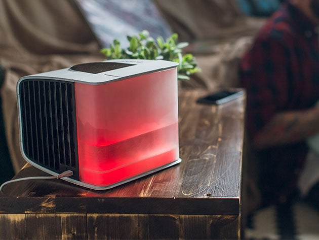 Keep cool in the summer heat with this personal air conditioner