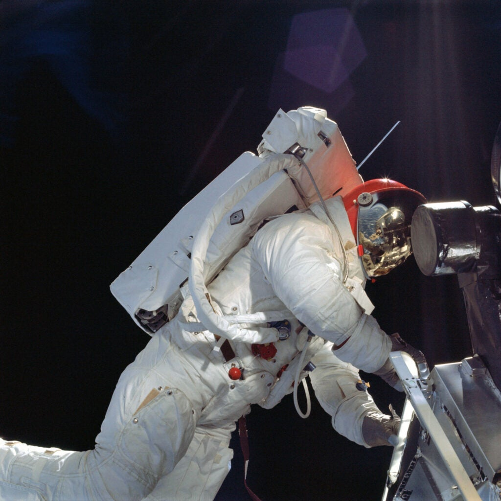 Stepping Out on Apollo 9
