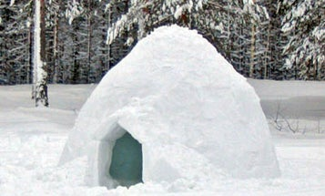 Want to build an igloo? Here's how.