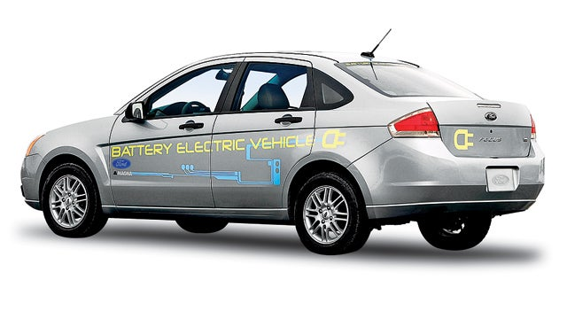 Ford Focus Battery Electric Vehicle