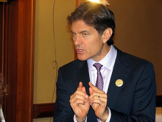 Dr. Oz Defends His Pseudoscientific Claims As Harmless 'Flowery Language'