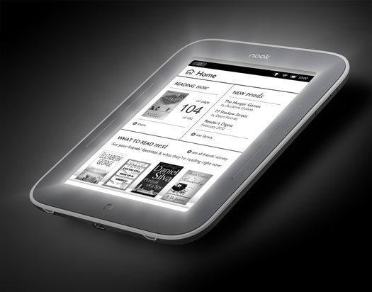 Hands-On: Barnes & Noble's Nook Simple Touch With GlowLight, Uh, Glows, With Light