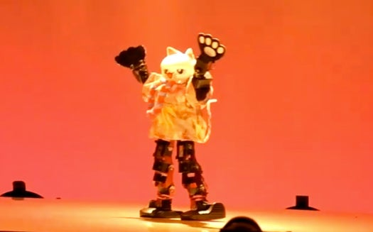 At 'Robot Japan,' Bots Battle by Breaking Down (On the Dance Floor)