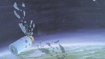 Russia Now: Object 2014-28E, Soviet Anti Satellite weapon concept art