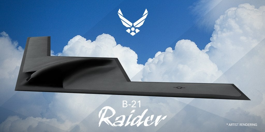 The Air Force's Newest Bomber Plane Is Named The B-21 Raider