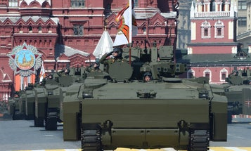 New Russian Armored Vehicle Operates Via Video Game Controller