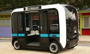 Autonomous Olli the Self-Driving Bus