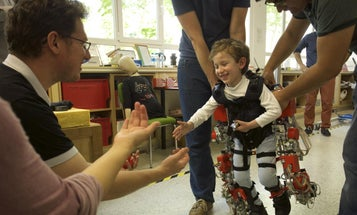 This Exoskeleton Suit Could Help Kids With Neuromuscular Illnesses Walk