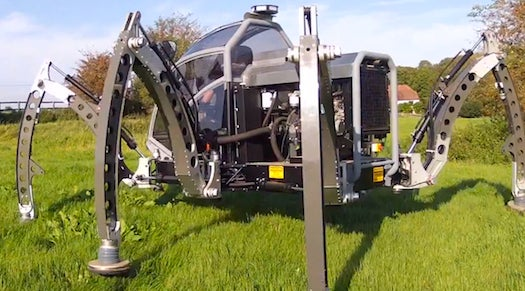 Look At This Insane 2-Ton Insect-Robot