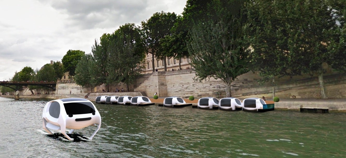 SeaBubbles Aspires To Bring Us The Water Taxi Of The Future