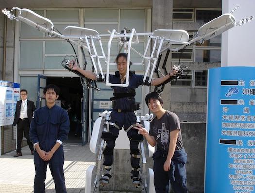 Video: DIY Human-Powered Exoskeleton Makes You Bigger, Stronger, Funnier