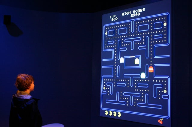 Robots Teach Each Other How To Play Pac-Man