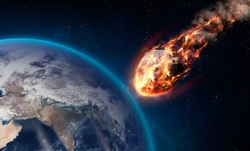 A meteor exploded over the Bering Sea with the energy of 10 atomic bombs