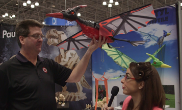 Take To The Skies With A Radio-Controlled Pterodactyl