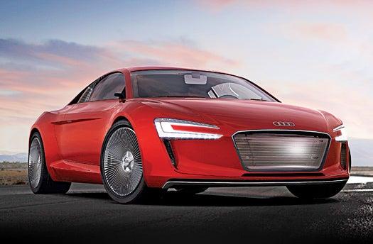 Audi's Electric Supercar