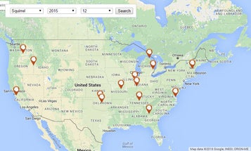Map Shows Squirrels Are Winning The Cyber War