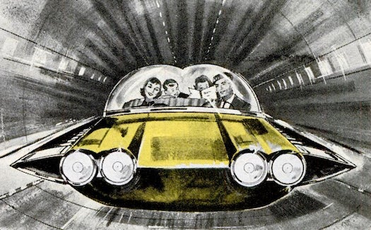 What Happened To The 1,500MPH, No-Wheels, Self-Driving Car?