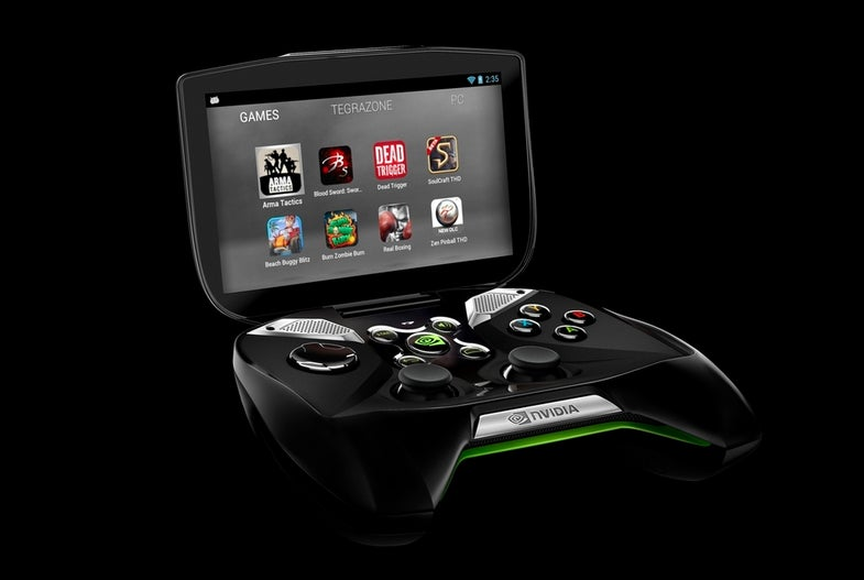 CES 2013: Nvidia Announces Ludicrous Portable Gaming System