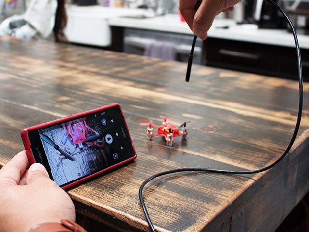 This endoscopic camera lets you view tiny places with your smartphone