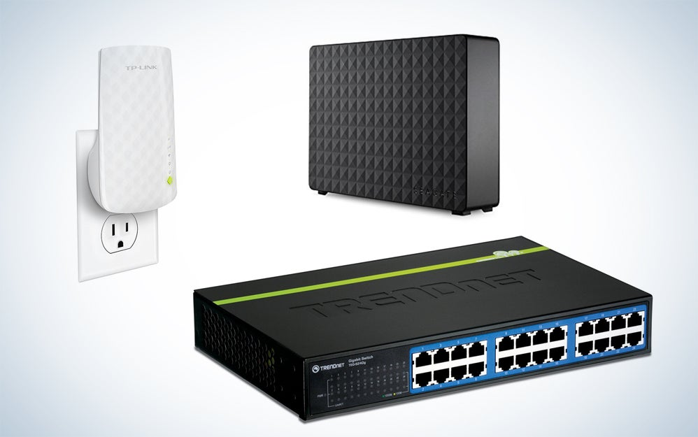 Networking and storage gear