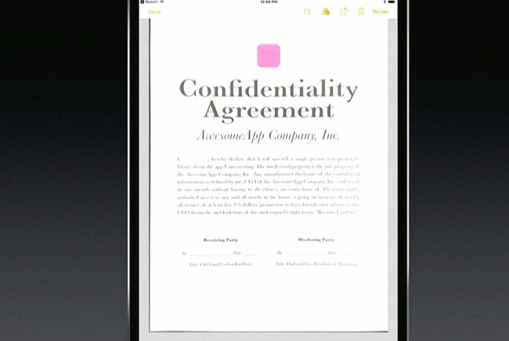 Ipad Pro Document Scanner