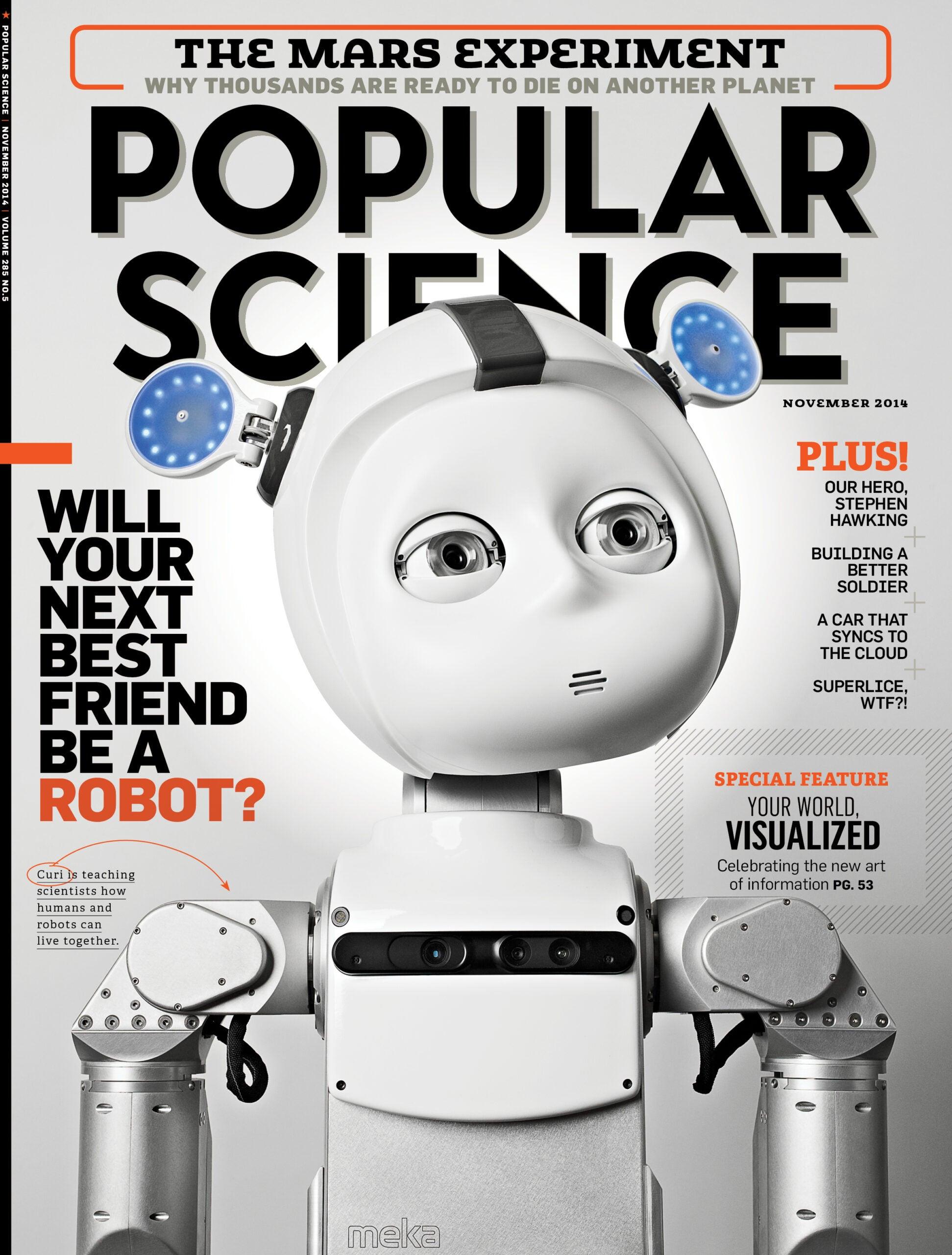 November 2014: Will Your Next Best Friend Be A Robot?