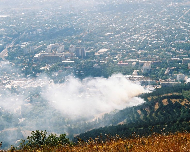 Wildfires can hurt you from miles away