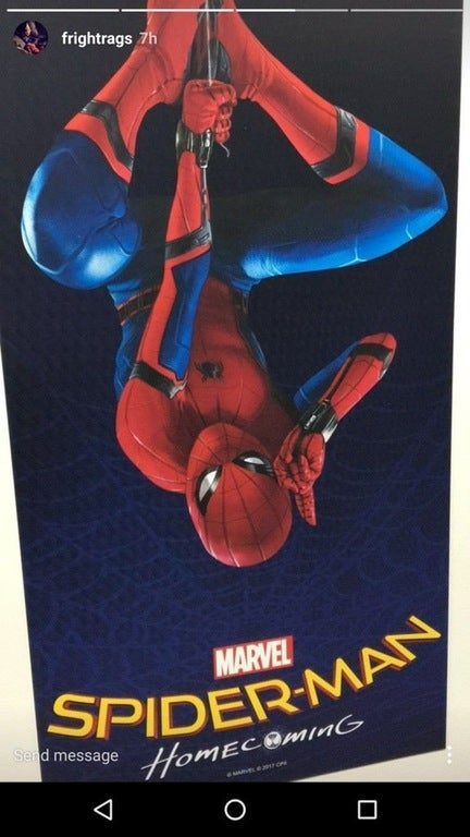 Check Out The Movie Poster For 'Spider-Man: Homecoming'