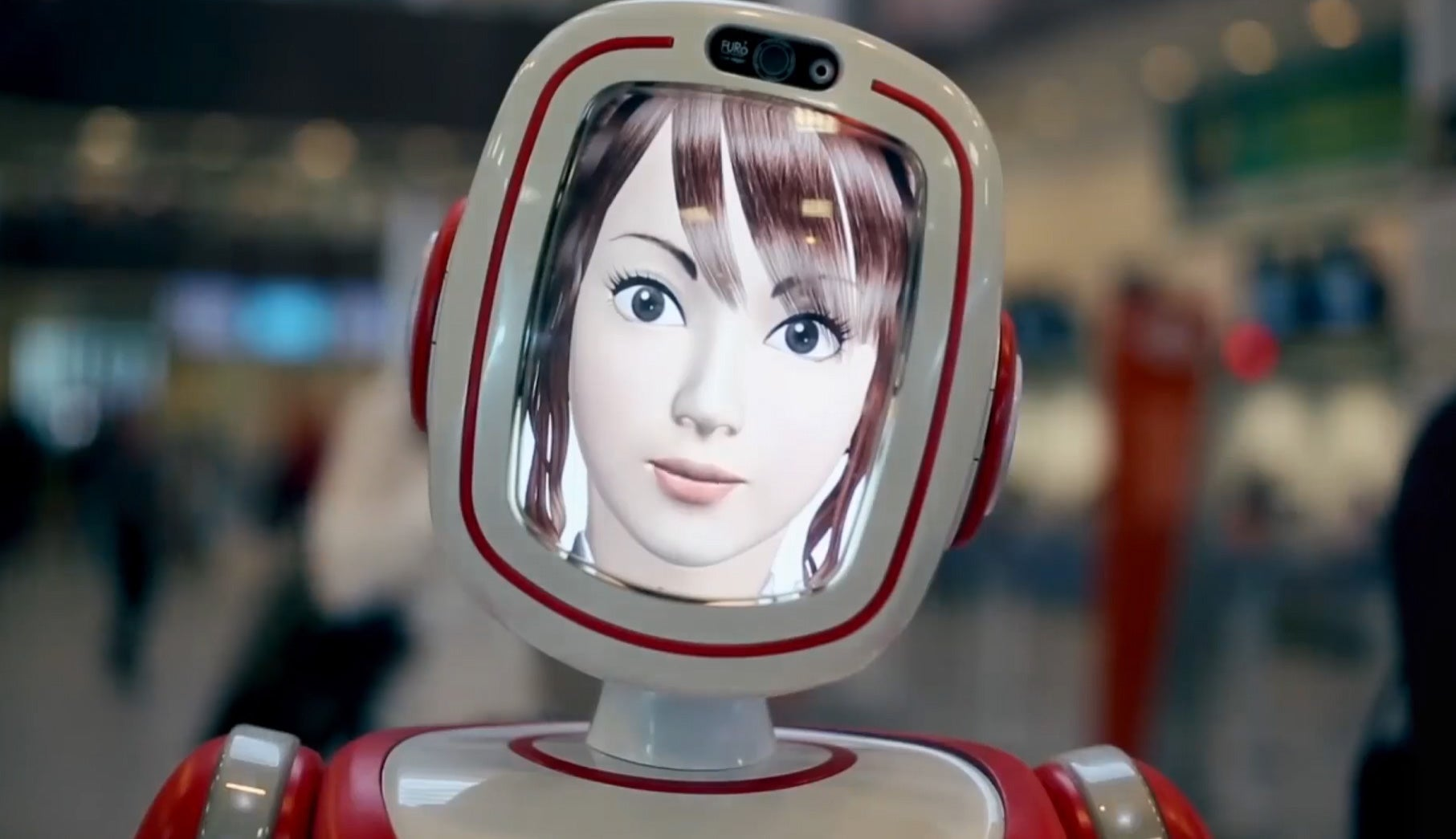 CES 2015: The Furo-S Service Robot Wants To Help You Catch Your Flight [Video]