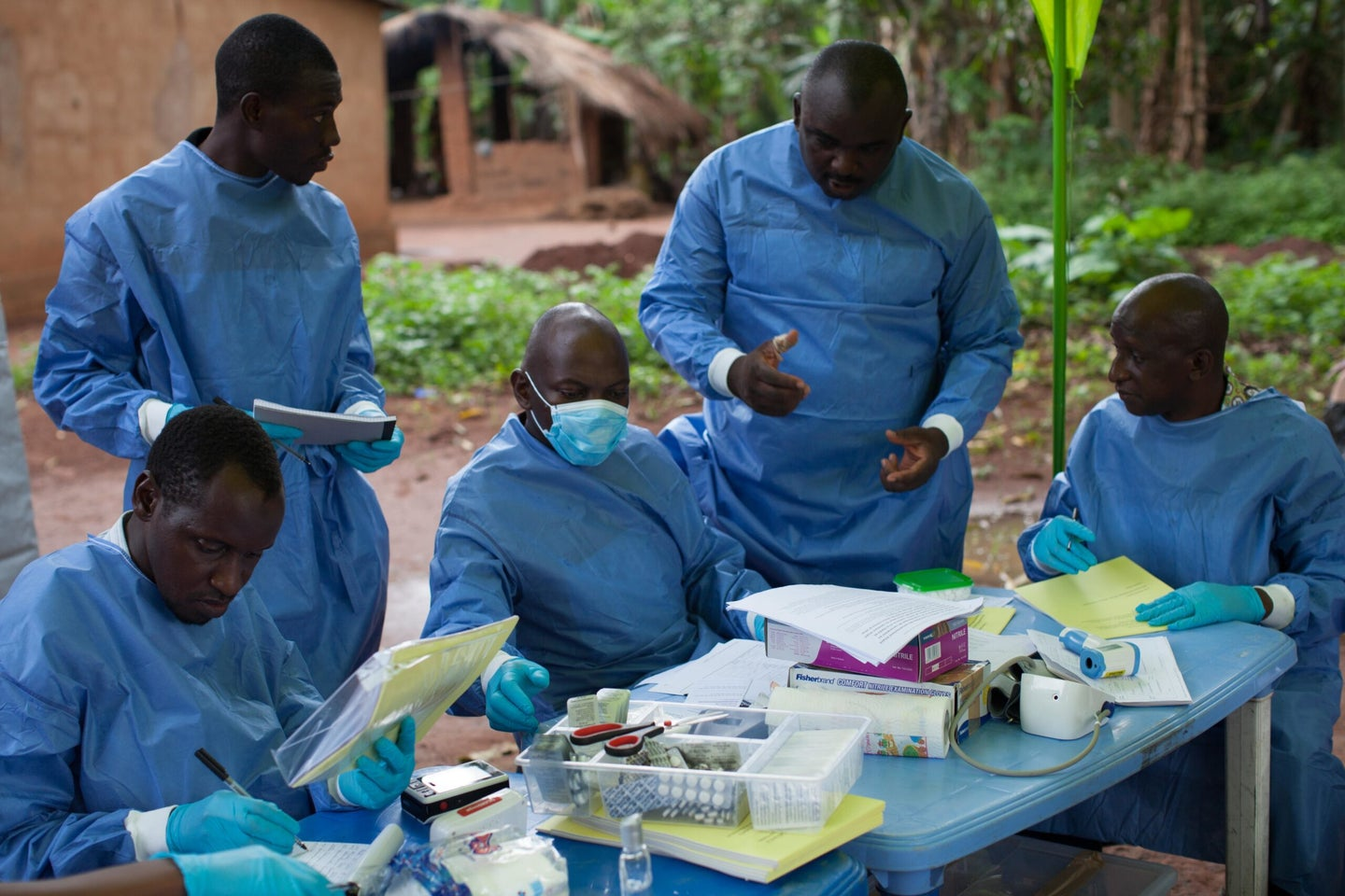 Ebola hasn't been cured yet, but two experimental drugs are showing significant progress