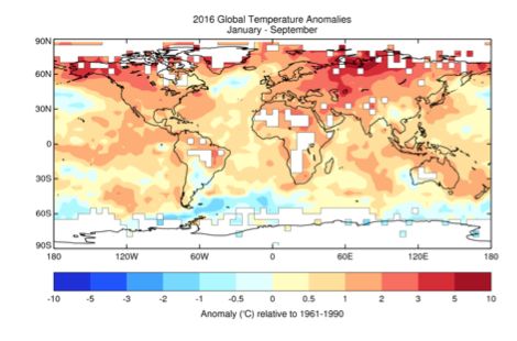 2016 is going to be the hottest year on record