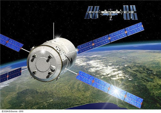 With Robotic Cargo Ferry Launch, Europe Will Become an Official Supplier to the ISS This Month