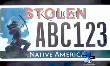 """Electronic Updatable License Plates Could Flash """"STOLEN"""" Or """"TEEN DRIVER"""""""
