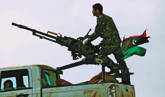 Inside the DIY Weapons Workshop of the Libyan Rebels