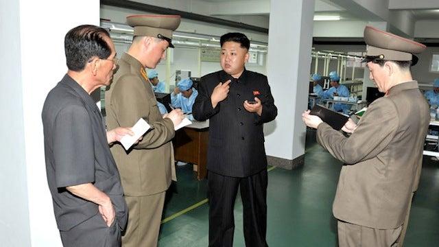 Kim Jong-Un Approves A (Possibly?) North Korea-Made Smartphone