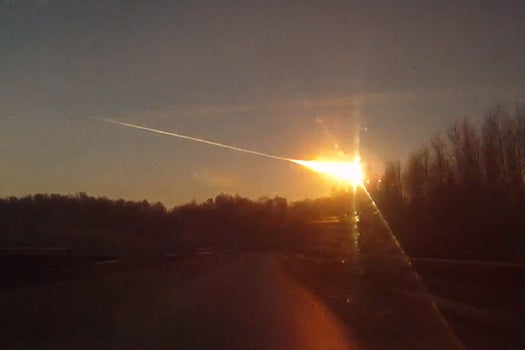 Videos: Space Rock Explodes Over Russia, Slams Into Building