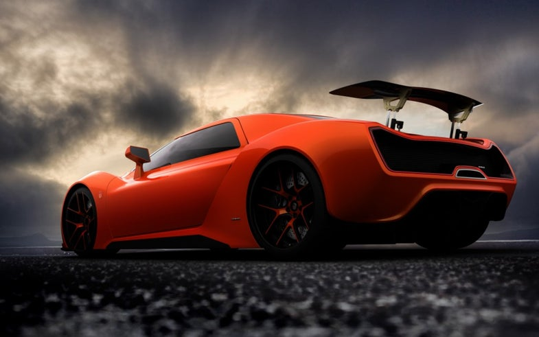 Two-Thousand-Horsepower Trion Nemesis Supercar Concept