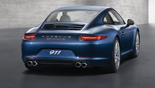 The Seventh-Generation Porsche 911 is Lighter, Faster and More Efficient