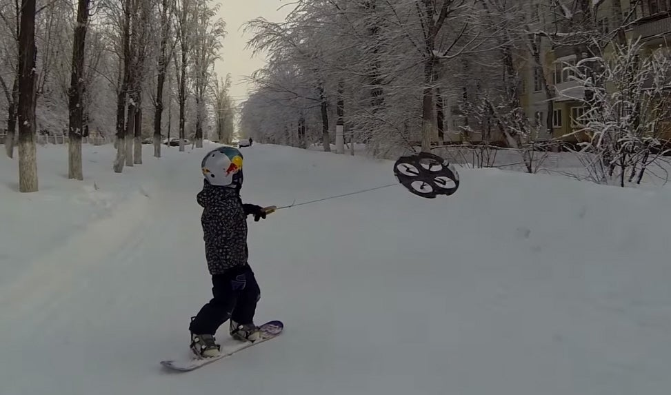 Droneboarding Is A Thing Now Because Of Course It Is